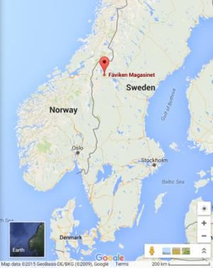 faviken Google Maps